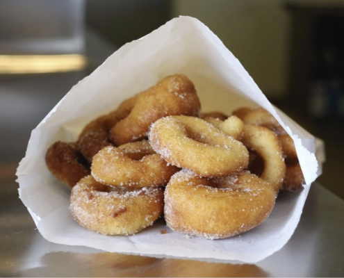 Bean's Coffee Bar - mini donuts